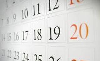 Horário e calendário